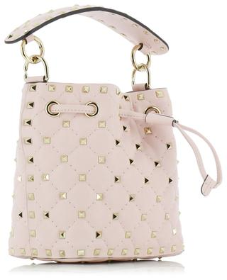 Small Rockstud Spike leather bucket bag VALENTINO