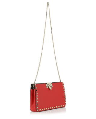 Rockstud studded leather clutch VALENTINO