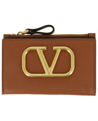 VLOGO bi-fold leather cardholder with coin purse VALENTINO