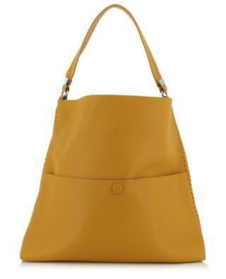 Slim Messenger leather shoulder bag CALLISTA