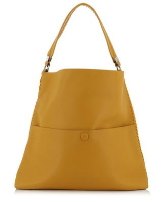 Slim Messenger leather shoulder bag CALLISTA
