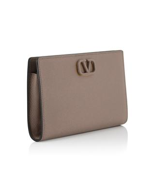 VLOGO grained leather big wallet VALENTINO