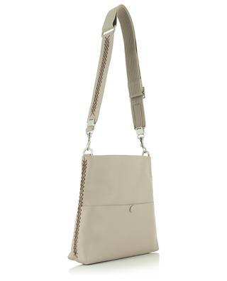 Petit sac porté épaule en cuir grainé Iconic Slim Messenger CALLISTA