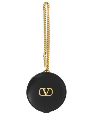 Leather mirror bag charm VALENTINO
