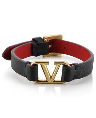 VLOGO textured leather bracelet VALENTINO
