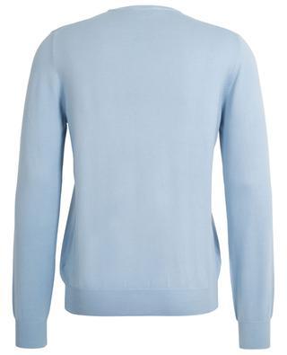 Classic lightweight cotton crew neck jumper BONGENIE GRIEDER