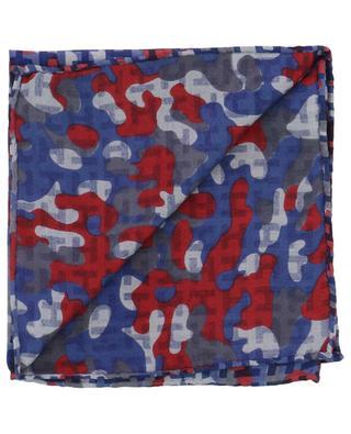 Einstecktuch aus Twill mit Camouflage-Print Ibenmini-S HEMISPHERE