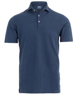 Kurzarm-Polohemd aus Baumwollpiqué Tommy FEDELI