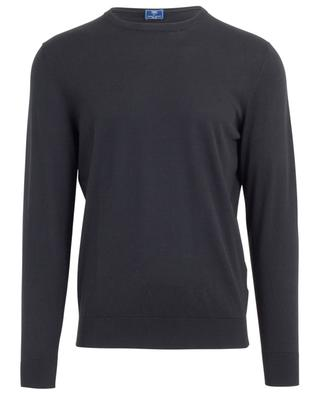 Round neck cotton jumper FEDELI
