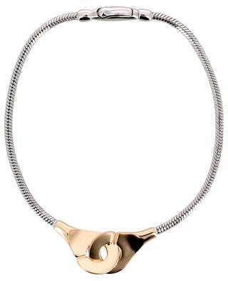 Armband aus Silber und Roségold Menottes R10 DINH VAN