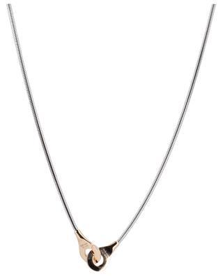 Halskette aus Roségold und Silber Menottes R10 DINH VAN