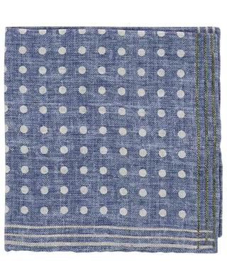 Easy reversible printed silk pocket square ROSI COLLECTION