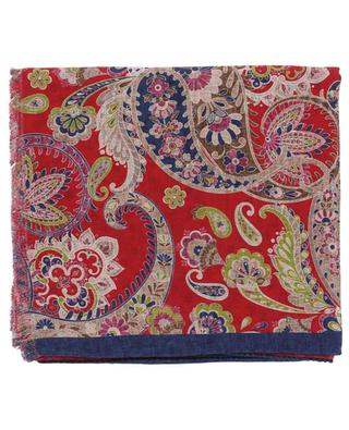 Salina reversible printed silk scarf ROSI COLLECTION