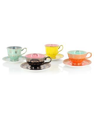 Set mit vier unterschiedlichen Teetassen Grandpa POLS POTTEN