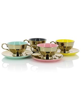 Legacy Gold set of four cups POLS POTTEN