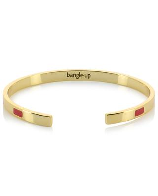 Goldener Armreif mit Email Tempo Rouge Velours BANGLE UP