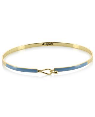 Bracelet fin émaillé Lily Bleu Glacier BANGLE UP