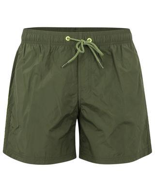 Swim shorts with tricolour stripes SUNDEK