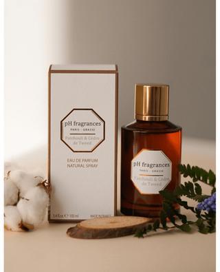 Eau de Parfum Patchouli & Cèdre de Tweed - 100 ml PH FRAGRANCES