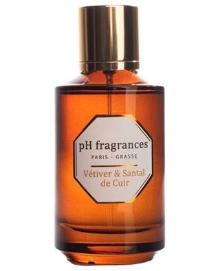 Eau de parfum Vétiver & Santal de Cuir - 100 ml PH FRAGRANCES