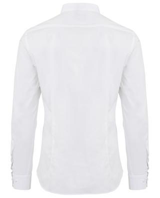 Hemd aus Baumwollstretch mit Mandarinkragen PAOLO PECORA