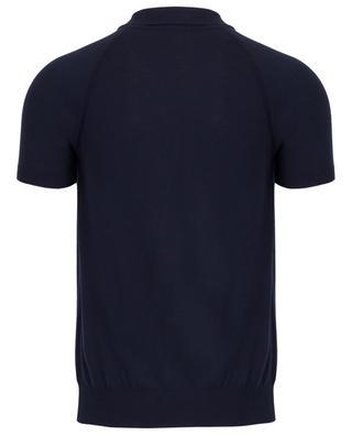 Strick-Polohemd mit Raglanärmeln PAOLO PECORA