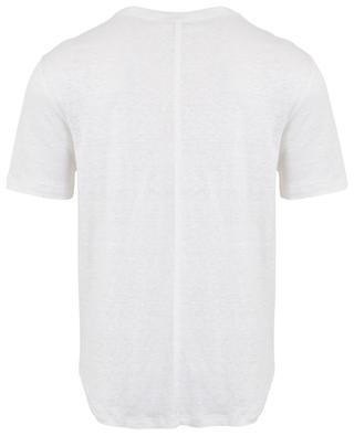 T-Shirt aus Leinen PAOLO PECORA