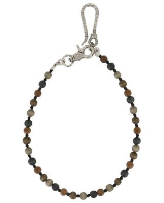 Metal and wood keychain ANDREA D'AMICO