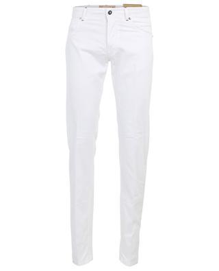 Nerano cotton and silk blend slim-fit trousers MARCO PESCAROLO