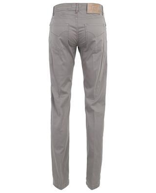 Slim-Fit-Hose aus Baumwoll- und Seidenmischgewebe Nerano MARCO PESCAROLO