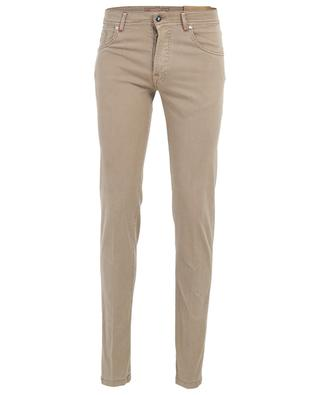 Nerano wool and cotton blend slim fit trousers MARCO PESCAROLO