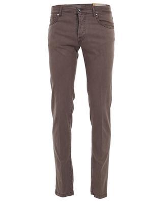 Pantalon slim en laine et coton mélangés Nerano MARCO PESCAROLO