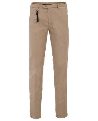 Maiori lightweight gabardine slim fit chino trousers MARCO PESCAROLO