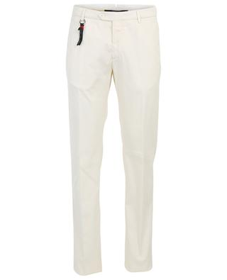 Cotton and silk blend trousers MARCO PESCAROLO