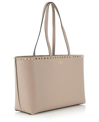 Rockstud Small grained leather tote bag VALENTINO