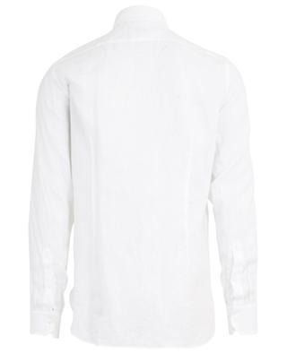 Chemise à mannches longues en lin classique GIAMPAOLO