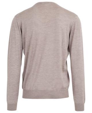Cashmere and silk fine V-neck jumper CRUCIANI