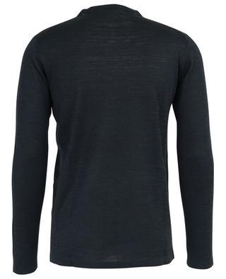 Fine silk and linen V-neck jumper CRUCIANI