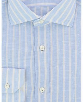 Gestreiftes Hemd aus Leinen LUIGI BORRELLI