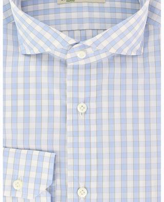 Felice gingham check cotton shirt LUIGI BORRELLI