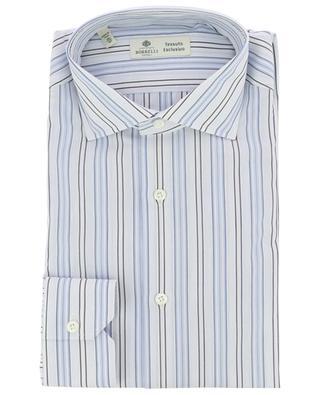 Striped cotton shirt LUIGI BORRELLI