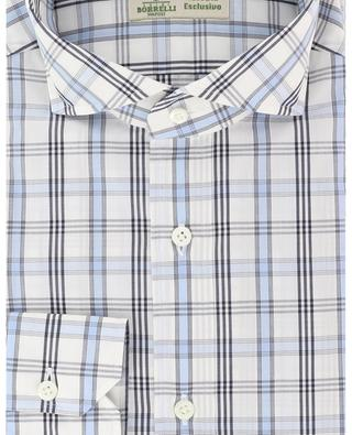 Felice lightweight cotton check shirt LUIGI BORRELLI