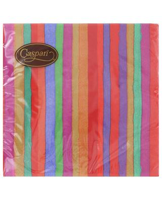 Balthazar Stripe Luncheon paper table napkins CASPARI