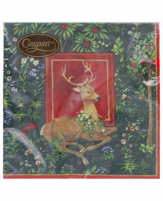 Stag Luncheon paper table napkins CASPARI