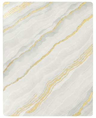 Lacquered wood placemat with marble effect CASPARI