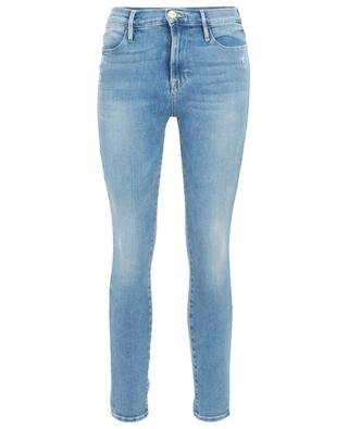 Ausgewaschene Jeans aus organischem Baumwollmix Le High Skinny FRAME