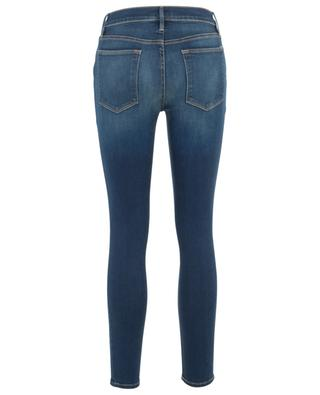 Ausgewaschene Jeans aus Baumwollstretch Le High Skinny FRAME