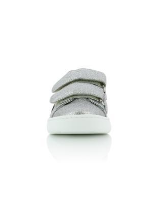 Kindersneakers aus Leder mit Glitter Ace GUCCI