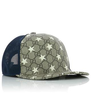 GG motifs and stars net baseball cap GUCCI