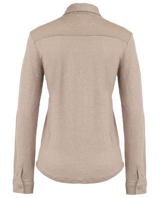 Fitted linen jersey shirt BONGENIE GRIEDER